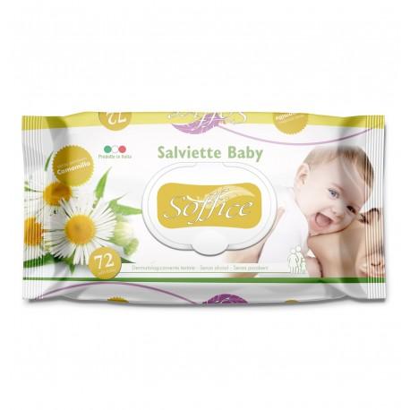 Бебешки мокри кърпички с лайка 72 бр.