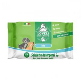 Мокри кърпички за кучета и котки 15 бр.