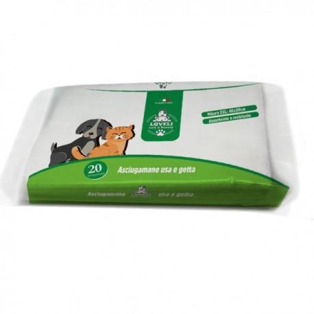 Подсушаващи кърпички за кучета и котки 20 бр.