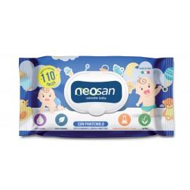 Мокри кърпички Neosan с талк и пантенол 110 бр.