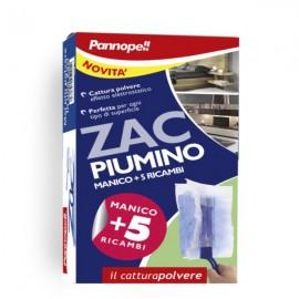 Комплект Zac за събиране на прах + 5 кърпички