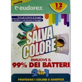 Цветоулавящи кърпички Salva Colore BACT 12 броя
